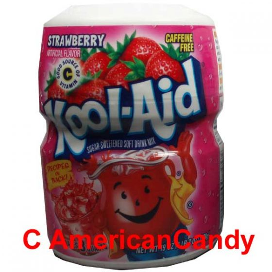 Kool Aid Barrel Strawberry 538g