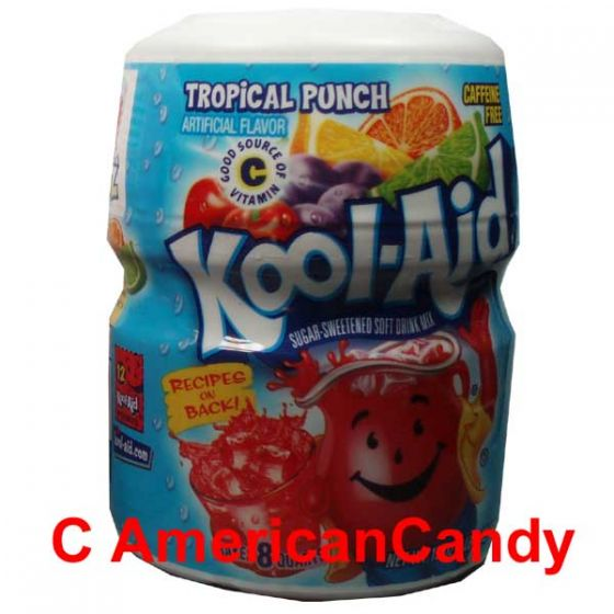 Kool Aid Barrel Tropical Punch 538g