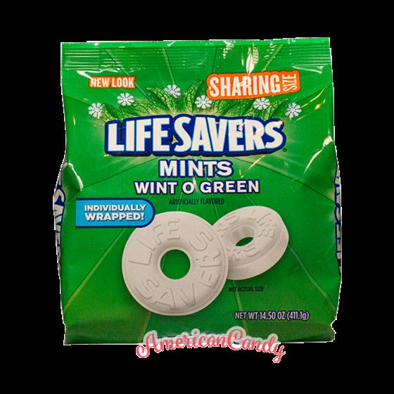 Lifesavers Mints Wint-O-Green / Wintergreen 411g