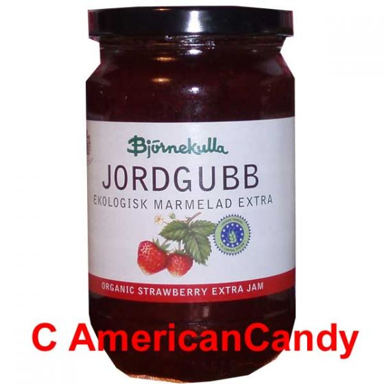 Swedish Organic Strawberry Extra Jam 400g