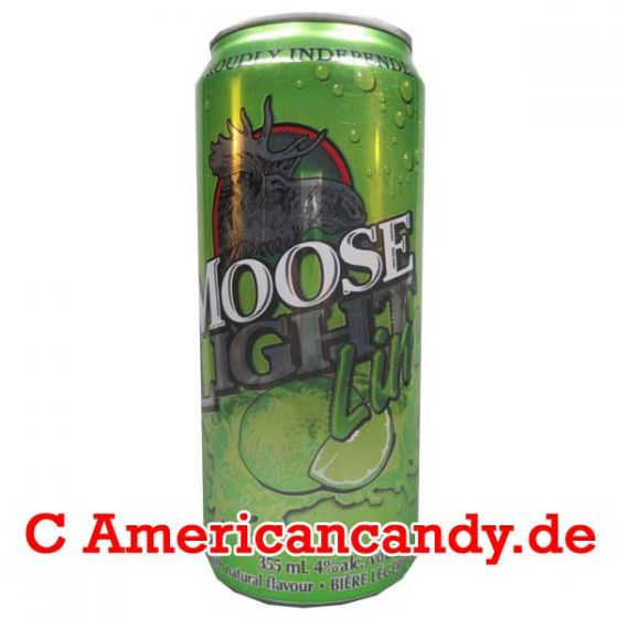 Moose Light Lime Lager Beer incl. Pfand