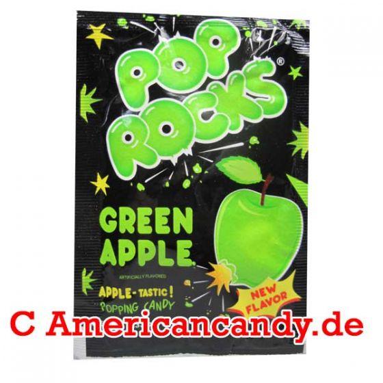 Pop Rocks Popping Candy Green Apple