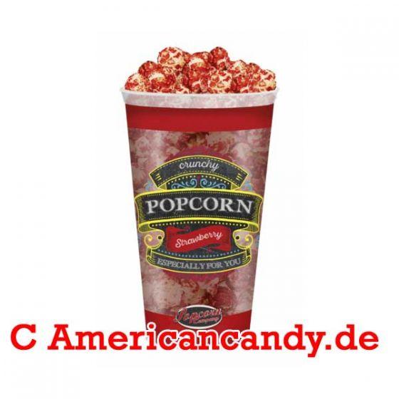 Crunchy Strawberry Popcorn 125g