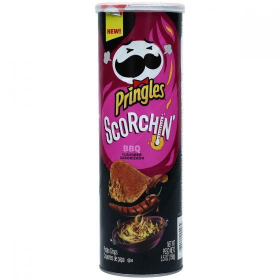 Pringles Crisp Scorching BBQ