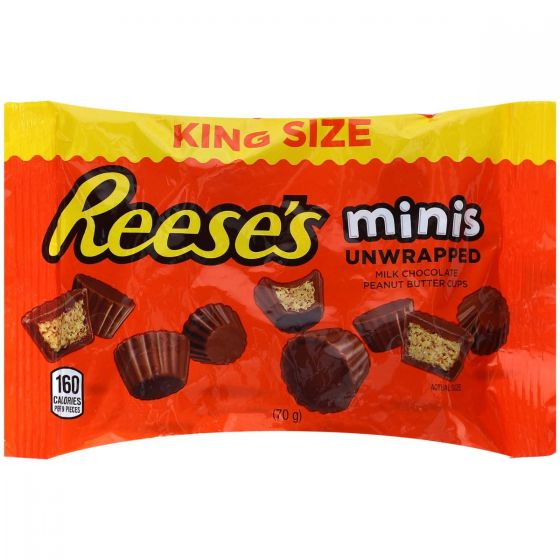 Reese's Peanut Butter Cups Minis King Size 70g