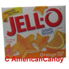 Jell-O Instant Pudding Gelatin Dessert Orange