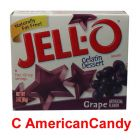 Jell-O Instant Pudding Gelatin Dessert Grape