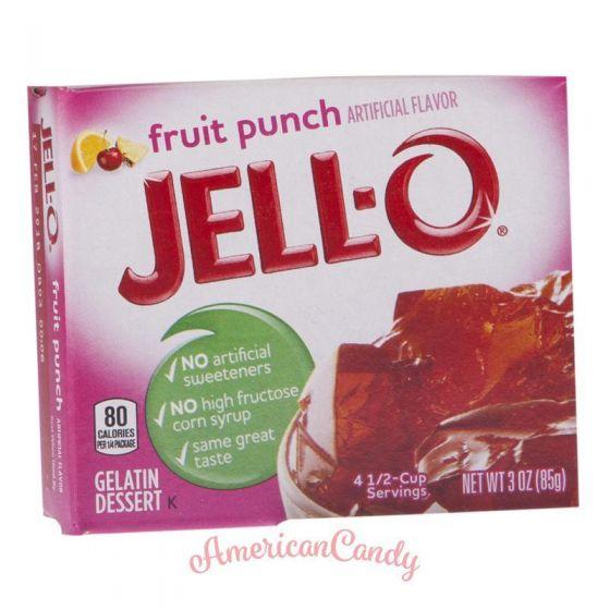 Jell-O Instant Pudding Gelatin Dessert Fruit Punch