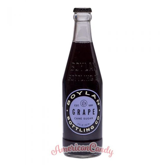 Boylan Grape Soda Cane sugar