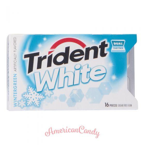 Trident White Wintergreen BigPack 16er