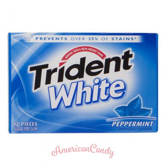 Trident White Peppermint 12er