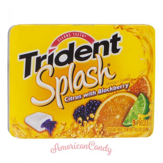 Trident Splash Citrus with Blackberry 9er
