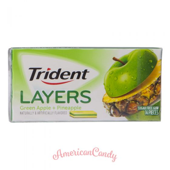 Trident Layers Green Apple + Golden Pineapple 14er