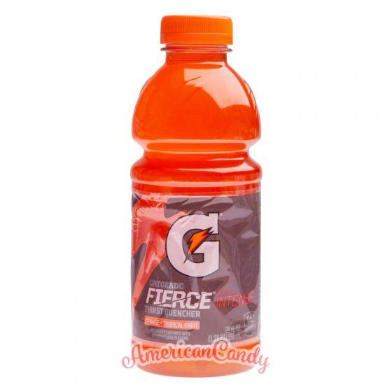 Gatorade Fierce Orange + Tropical Fruit PET