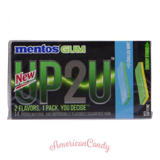 Mentos Gum UP2U Chillax Mint & Energy Strike