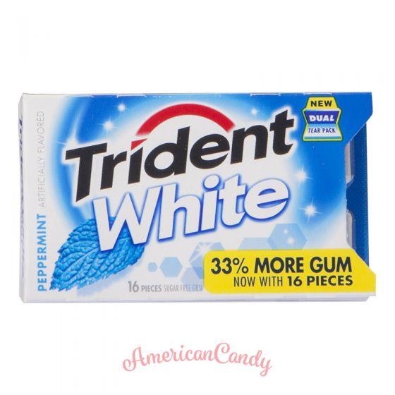 Trident White Peppermint BigPack 16er