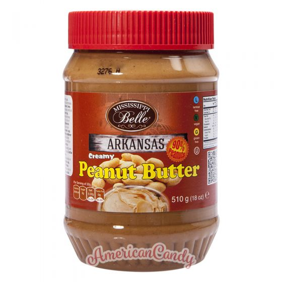 Mississippi Belle Creamy Peanut Butter 510g