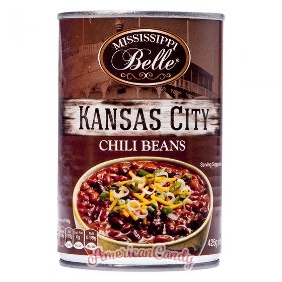 Mississippi Belle KANSAS CITY Chili Beans 425g