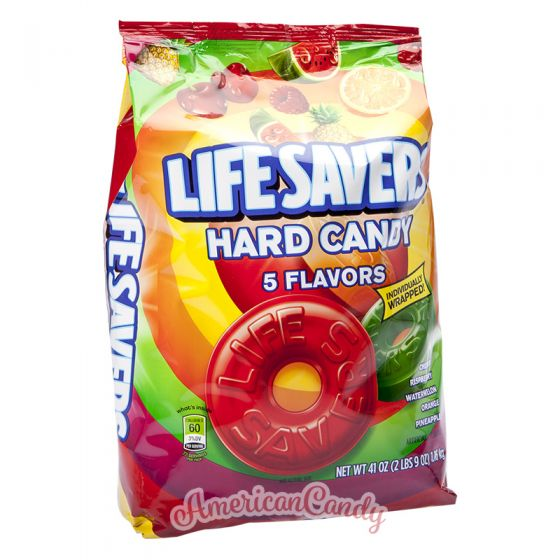 Lifesavers Hard Candy 5 Flavors 1,16 kg
