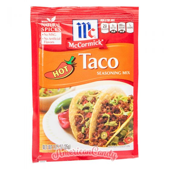 McCormick Hot Taco Seasoning Mix