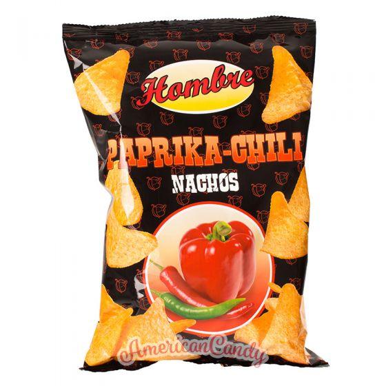 Hombre Nachos Paprika-Chili 125g