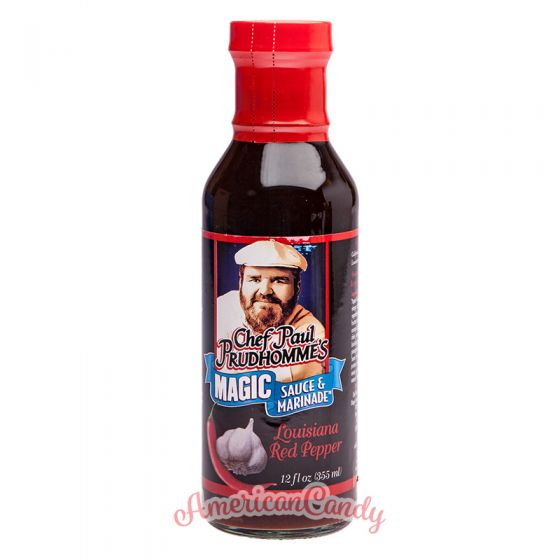 Chef Paul Prudhomme's Magic Sauce & Marinade Louisiana Red Peppe