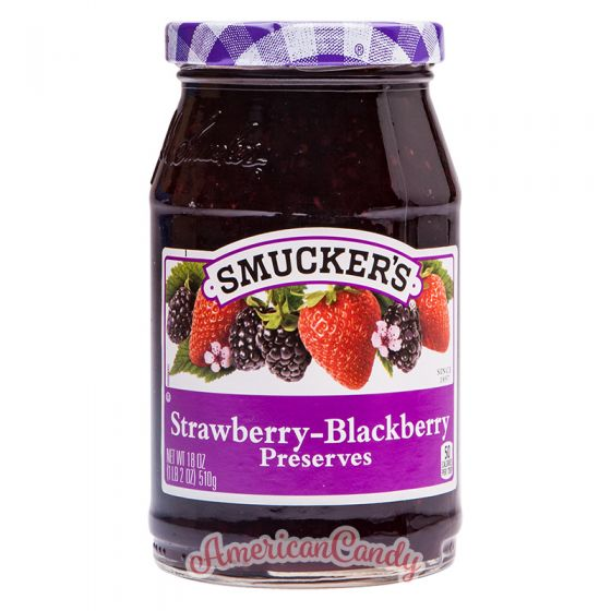 Smucker's Strawberry-Blackberry Preserves 510g