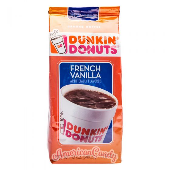 Dunkin' Donuts Coffee French Vanilla 340g
