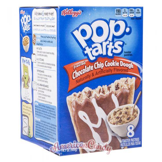 Pop Tarts Chocolate Chip Cookie Dough (2 Toast-Taschen)