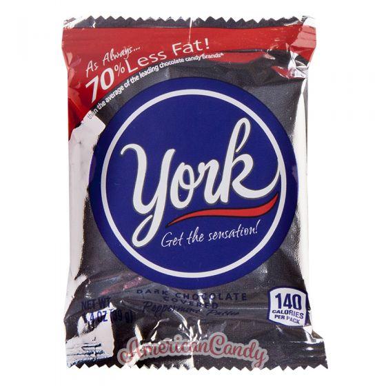 York Chocolate Truffle Mint Pattie
