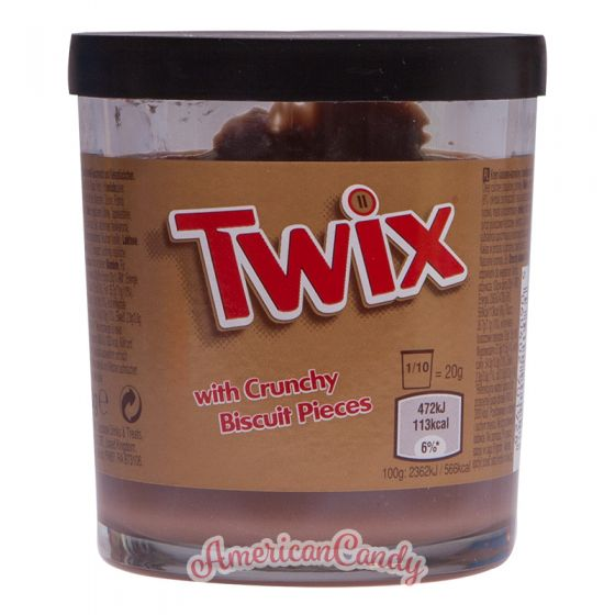 Twix Cream with crunchy Biscuit Pieces 200g