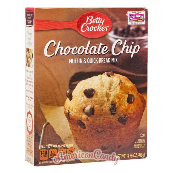 Betty Crocker Chocolate Chip Muffin & Quick Bread Mix