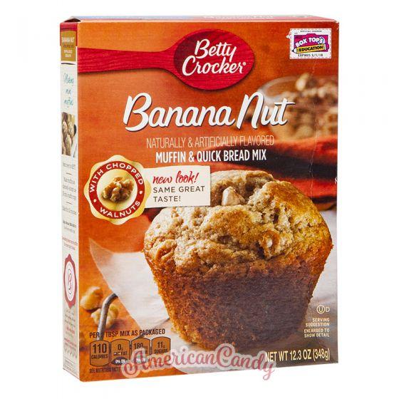 Betty Crocker Banana Nut Muffin
