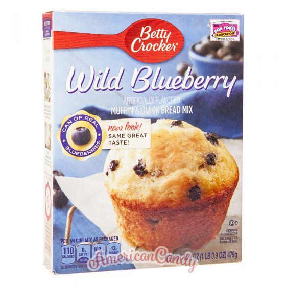 Betty Crocker Wild Blueberry Muffin Mix