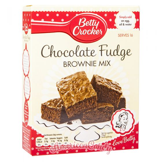 Betty Crocker Fudge Brownies Mix
