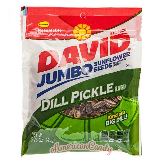 David Sunflower Seeds Dill Pickle 149g