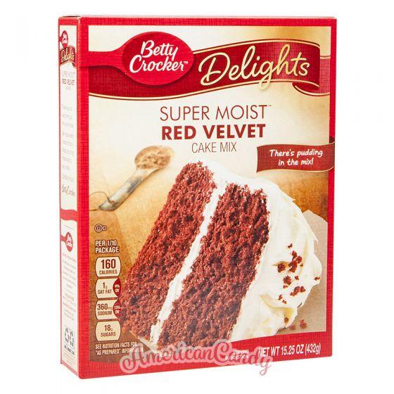 Betty Crocker Super Moist Red Velvet Cake Mix 432g