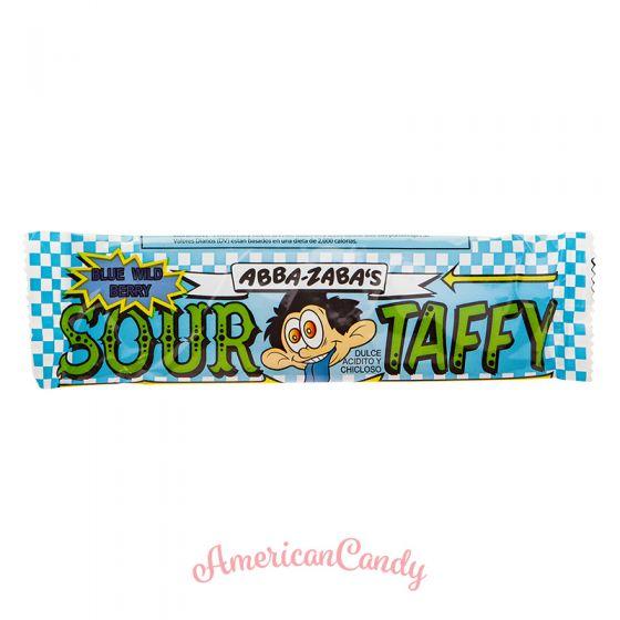 Annabelle's Abba-Zaba's Wild Blueberry sour taffy