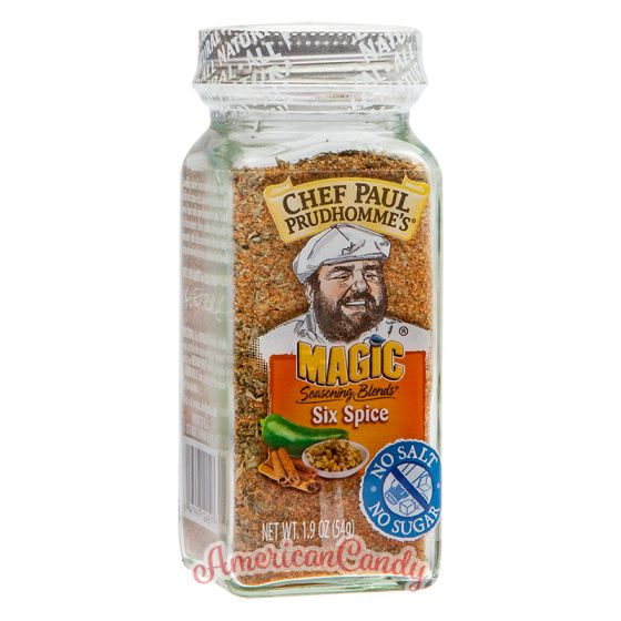 Chef Paul Prudhomme's Magic Seasoning Blends Six Spice 57g