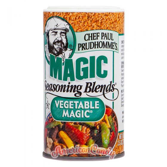 Chef Paul Prudhomme's Magic Seasoning Blends Vegetable Magic 71g