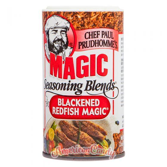 Chef Paul Prudhomme's Magic Seasoning Blends Blackened Redfish M