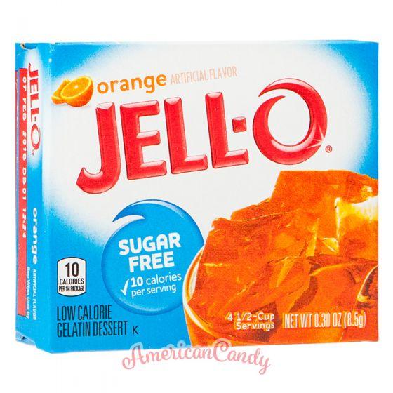Jell-O Instant Pudding Gelatin Dessert Orange Sugar Free