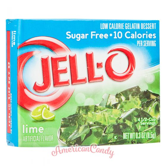 Jell-O Instant Pudding Gelatin Dessert Lime Sugar Free