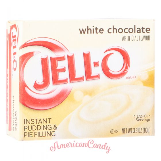 Jell-O White Chocolate Cream Instant Pudding & Pie Filling