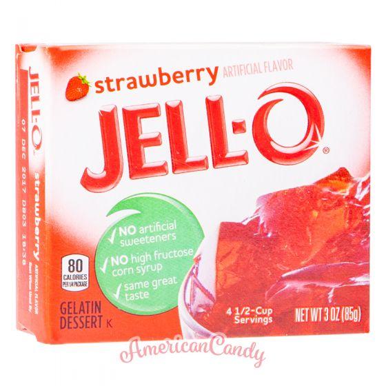 Jell-O Instant Pudding Gelatin Dessert Strawberry