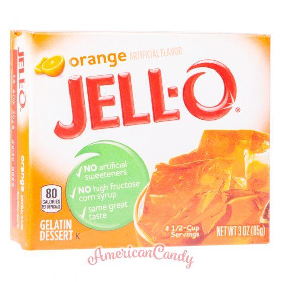 Jell-O Instant Pudding Gelatin Dessert Orange
