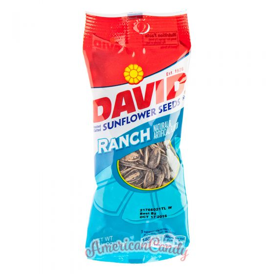 David Sunflower Seeds Ranch Flavor Medium