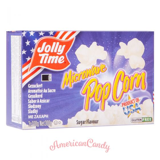 Jolly Time Microwave Popcorn Sugar 100g