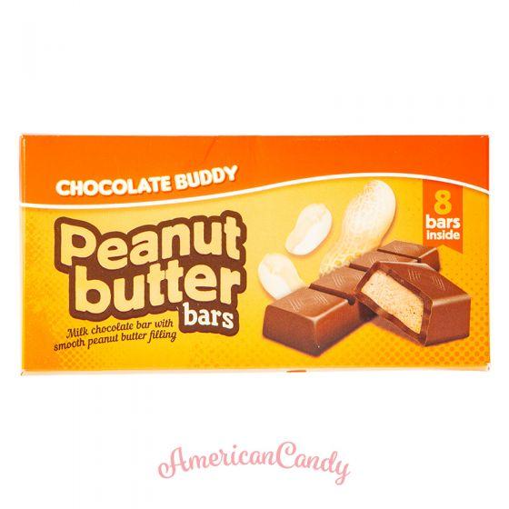 Chocolate Buddy Peanut Butter Bars 100g