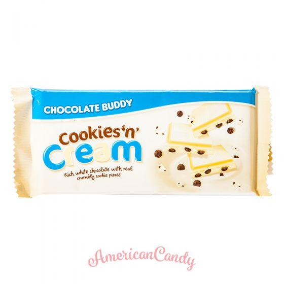 Chocolate Buddy Cookies 'n' Cream White Chocolate 100g